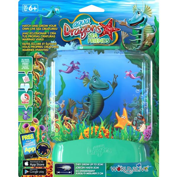 Aqua dragons sea friends frontview