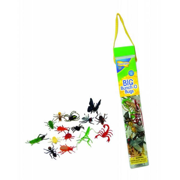 Plastic detailed insects, Big Bunch Bugs