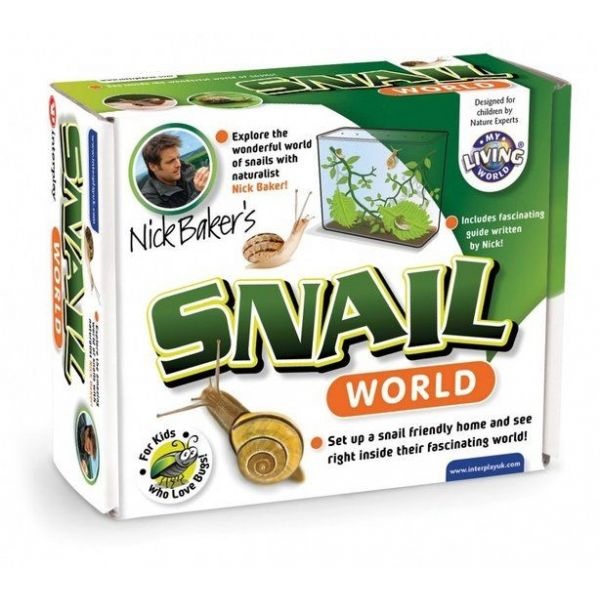 Snail world, slakkenverblijf
